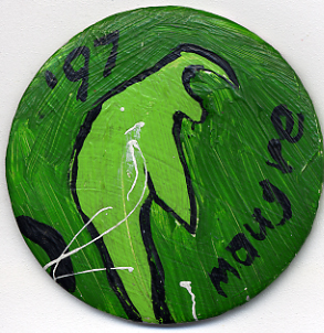 Painted pin (3 inches)