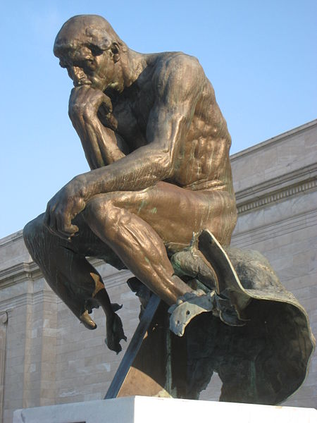 The Thinker (Damaged in Cleveland)