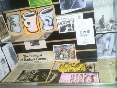 Art by Mike Mikolowski, articles on Barbara Green and the Trobar Gallery