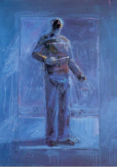 A painting by Bradley Jones, 1989