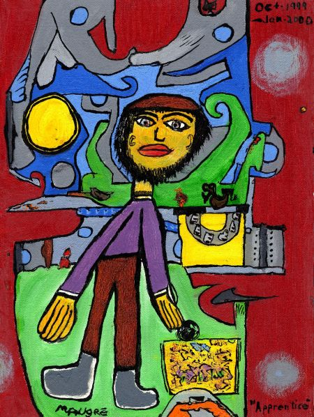 """""""Apprentice"""" oils, late 1999 and early 2000."""